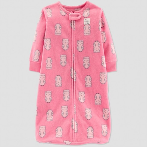 6b163cd309eb Baby Girls  Owl Sleep Bag - Just One You® Made By Carter s Pink 0-9M ...