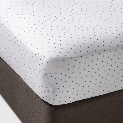 Micro Star Fitted Sheet Separates Blue - Pillowfort™