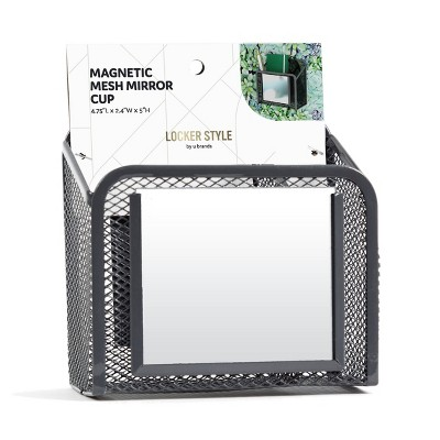 Locker Curved Mesh Mirror Cup - U Brands