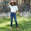 Women's Mid-Rise Skinny Jeans - Universal Thread™ Dark Wash - image 3 of 4