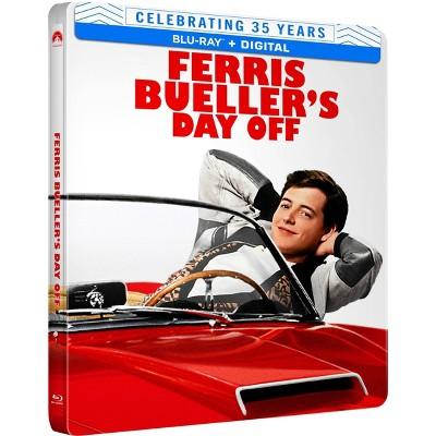 Ferris Bueller's Day Off (35th Anniversary SteelBook)(Blu-ray + Digital)