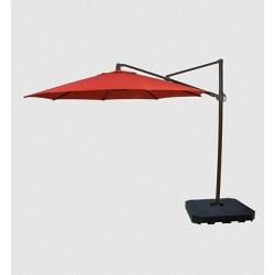 11' Offset Patio Umbrella - Black Pole - Threshold™