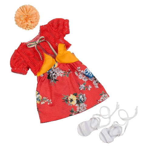 Our Generation Deluxe Outfit - Spanish Rose - image 1 of 3