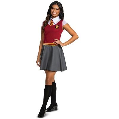 Harry Potter Gryffindor Dress Tween/Adult Costume