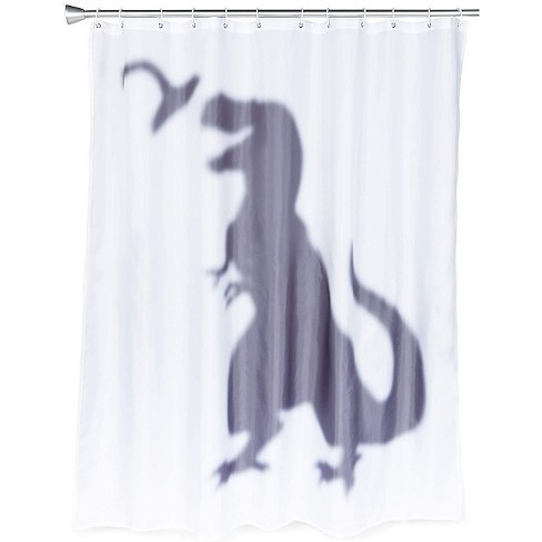 Okuna Outpost T Rex Dinosaur Shower Curtain Set With 12 Hooks For Bathroom 70 X 71 In Target