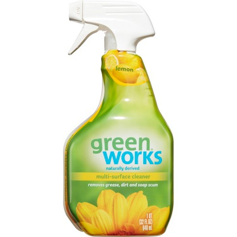 Green Works All Purpose Cleaner Spray, Simply Lemon, 32 oz - image 1 of 3