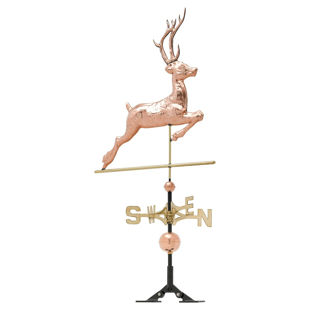26 Deer Weathervane - Polished Copper - Whitehall Products