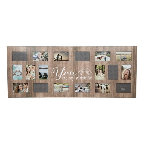 Multiple Image 18 Opening Sunshine Collage Frame - Gallery Solutions ...