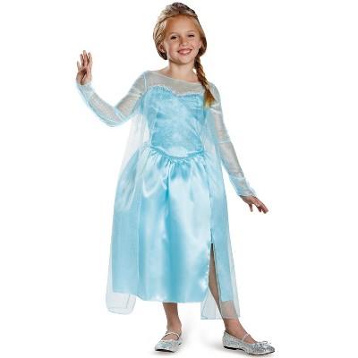 Frozen Elsa Snow Queen Gown Classic Child Costume