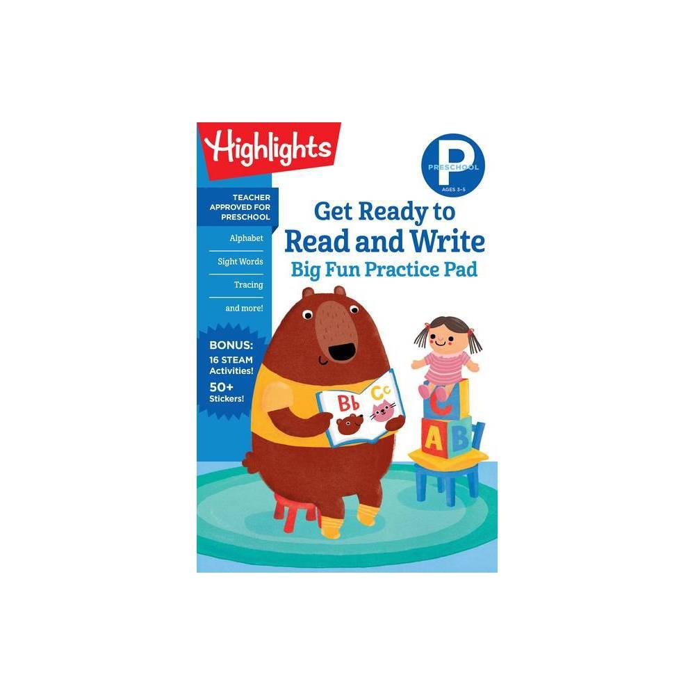 Preschool Get Ready To Read And Write Big Fun Practice Pad Highlights Tm Big Fun Practice Pads Paperback