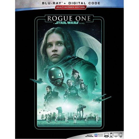 Star Wars Rogue One: A Star Wars Story (Blu-Ray + Digital) - image 1 of 2