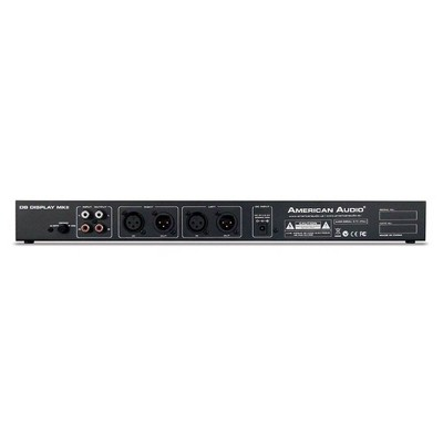 American Audio MKII DB Sound Volume LED Display Monitor Device for Amp Rack