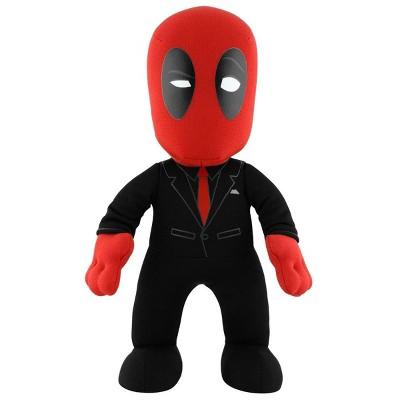 "Bleacher Creatures LLC Marvel Deadpool In Suit 10"" Plush Figure"