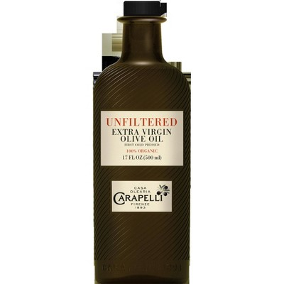 Olive Oil: Carapelli Organic Unfiltered Extra Virgin Olive Oil