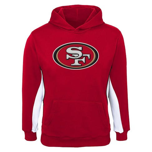 San Francisco 49ers Boys'' Hooded Sweatshirt - image 1 of 1