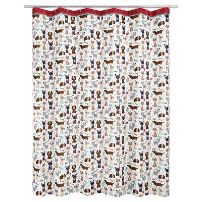 Puppy Love Shower Curtain - Allure Home Creations