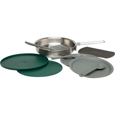 Stanley Camping Cookware 32oz Fry Pan Set - Gray