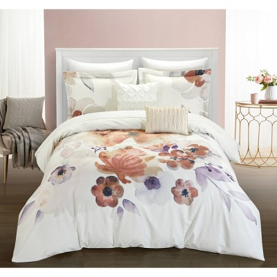 King 9pc Catskill Park Bed In A Bag Comforter Set Multi - Chic Home Design