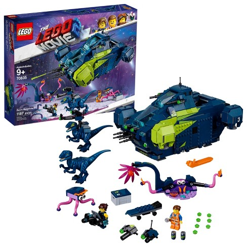 THE LEGO MOVIE 2 Rex's Rexplorer! 70835 - image 1 of 4
