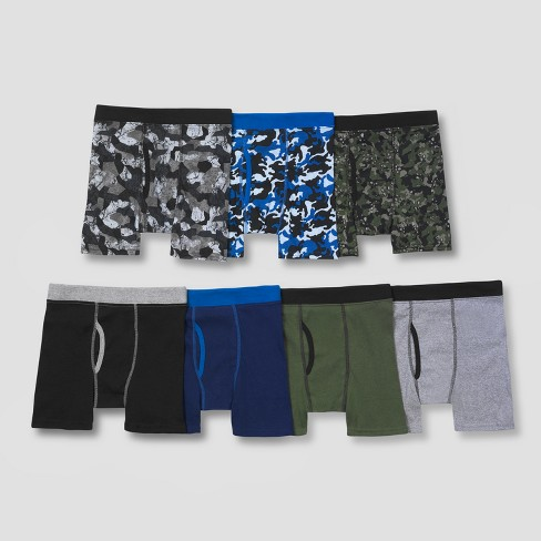 Hanes Boys' 7pk ComfortSoft Boxer Briefs - image 1 of 2