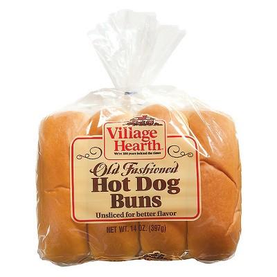 Village Hearth Coney Buns - 15oz/8ct