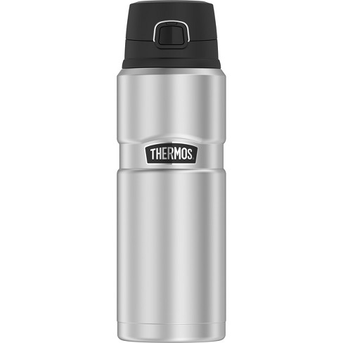 Thermos 24oz Stainless King™ Direct Drink Bottle - Stainless Steel - image 1 of 3