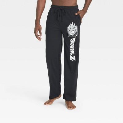 Men's Dragon Ball Z Lounge Pajama Pants - Black