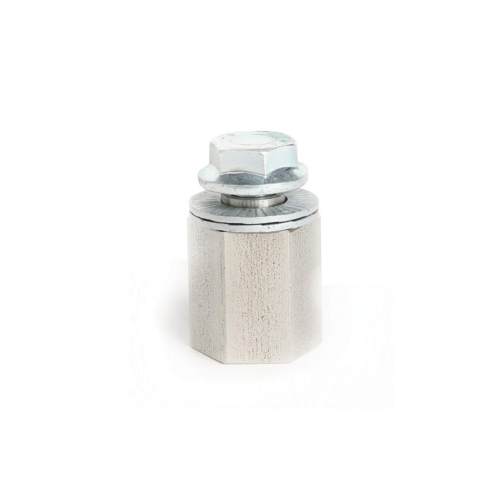 Thule Internal Hub Hitch Adapter - Spectro - Silver