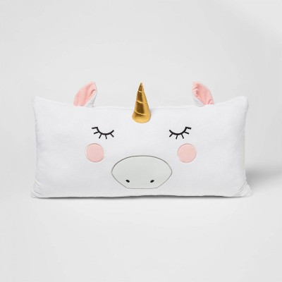 Unicorn Body Pillow White - Pillowfort™
