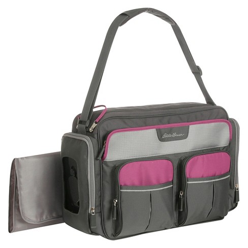 Eddie Bauer Places & Spaces Duffle Diaper Bag - Wild Aster - image 1 of 4