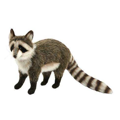 hansa standing racoon plush toy target