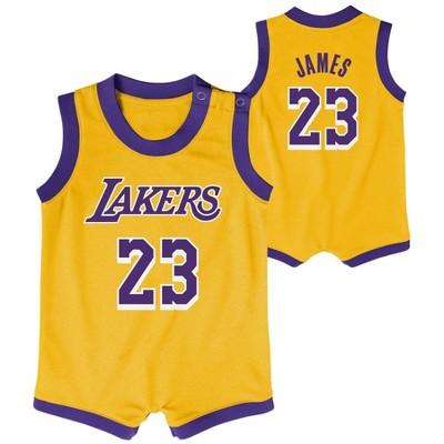 NBA Los Angeles Lakers Baby Boys' Onesies - 6-9M