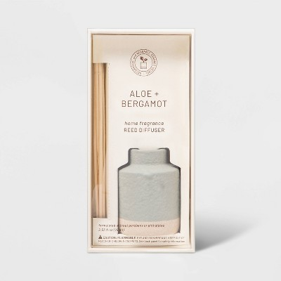 2.54 fl oz Wellness Aloe and Bergamot Oil Diffuser - Project 62™