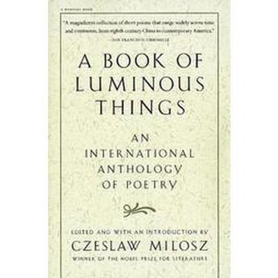 A Book of Luminous Things - by  Czeslaw Milosz (Paperback)