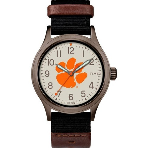 NCAA Clemson Tigers Tribute Collection Clutch Men's Watch - image 1 of 1