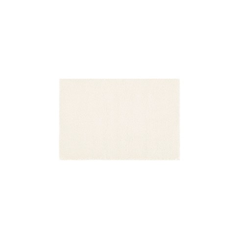 Marshmallow Solid Memory Bath Rugs - image 1 of 4