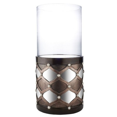 "OK Lighting Arabesque Floor Candleholder (31""H - Candle Not Included)"