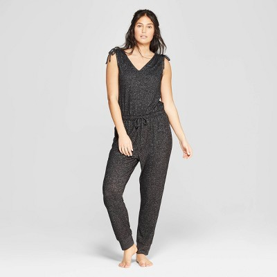 Women's Perfectly Cozy Lounge Jumpsuit - Stars Above™ Charcoal M