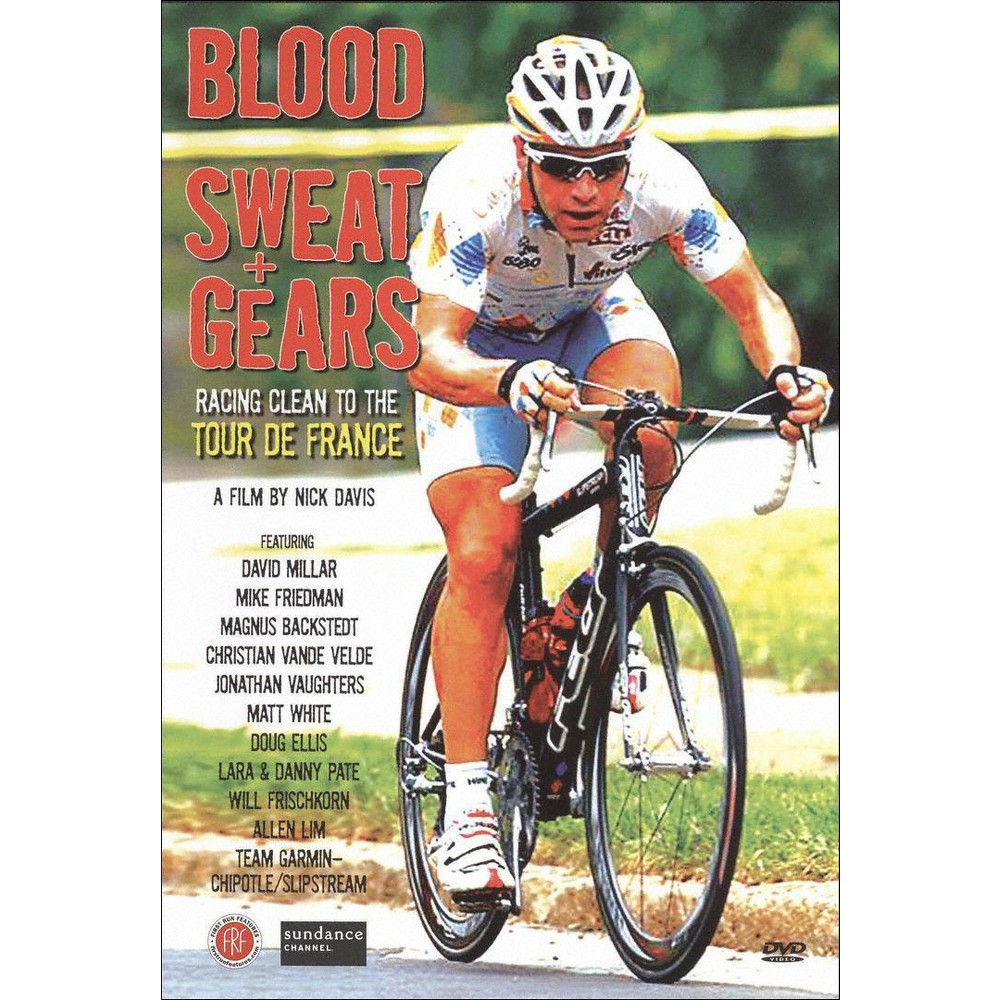 Blood Sweat And Gears:Racing Clean To (Dvd)