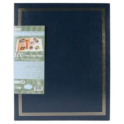 Post Bound Jumbo Scrapbook - Navy Blue