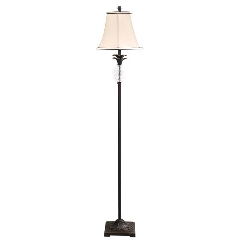 Abbyson Living Antique Pineapple Floor Lamp - Bronze - image 1 of 4