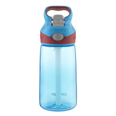 Contigo Striker 14oz Plastic Water Bottle - Blue/Brown - image 1 of 1