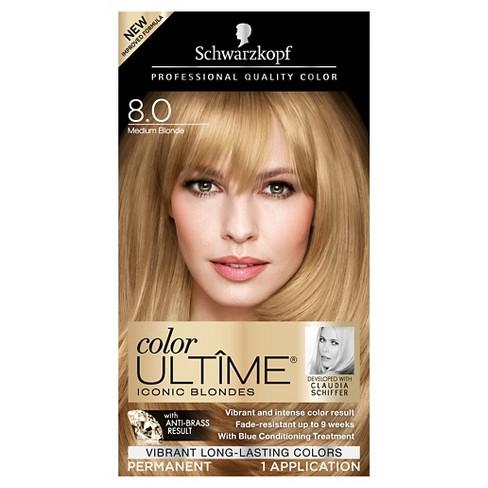 d43a78e113 Schwarzkopf Color Ultime Permanent Hair Color - 1 Kit : Target