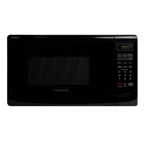 Faberware 0.7 cu ft Microwave Oven - Black - image 1 of 4