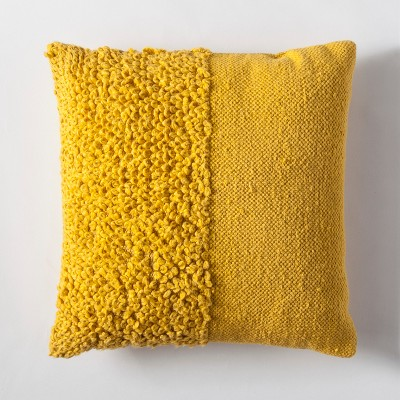 Yellow Solid Textured Throw Pillow - Project 62™