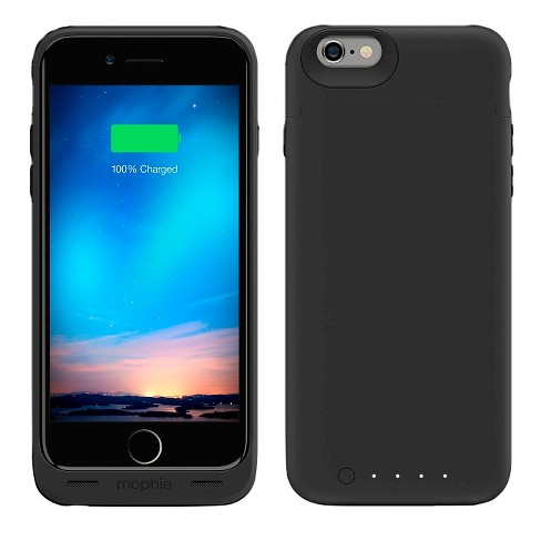 official photos c0694 d67b8 iPhone 6/6S Charging Case - Mophie Juice Pack Reserve - Black