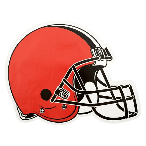 NFL Cleveland Browns Large Outdoor Helmet Decal - image 1 of 1