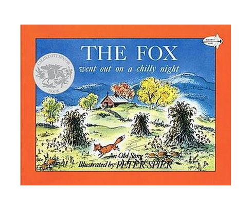 Fox Went Out on a Chilly Night : An Old Song (Reissue) (Paperback) - image 1 of 1