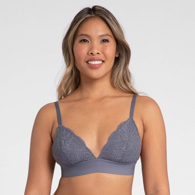 All.You. LIVELY Women's Long-Lined Lace Bralette