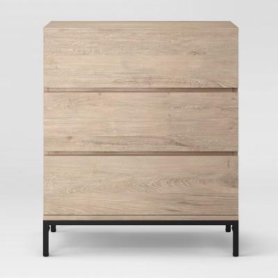 Loring 3 Drawer Dresser - Vintage Oak - Project 62™
